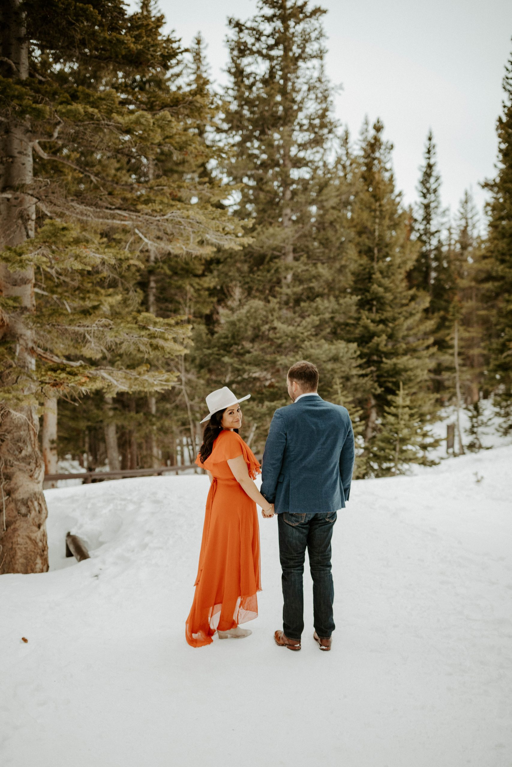 Rocky Mountain Engagement Photos